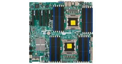 Материнская плата Supermicro MBD-X9DR3-LN4F+O Intel S2011 iC606 (Enhanced Extended ATX,FSB 8000МГц,24 x DDR3 SDR,5xГбит), в упаковке