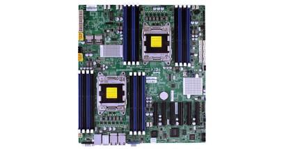 Материнская плата Supermicro MBD-X9DRD-7LN4F-O Intel S2011 2xLGA2011, C602J, Xeon E5-2600, E-ATX 12''x13'', 16xDIMM