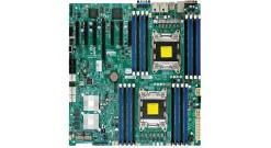 Материнская плата Supermicro MBD-X9DRH-ITF, 2xLGA2011, C602, Xeon, E5-2600, E-ATX 12''x13'', 16xDIMM (up to 512GB RDIMM/128GB UDIMM), 1xPCI-E 3.0 x16, 6xPCI-E 3.0 x8, 6xSATA (4xSATA2 + 2xSATA3 RAID 0,1,5,10), 2x10GBase-T with X540 10Gb