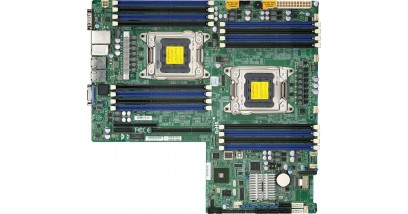 Материнская плата Supermicro MBD-X9DRW-IF-O; Intel S2011; E-ATX, 16 DIMM slots (512GB DDR3)