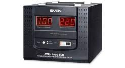 Стабилизатор SVEN  (20 A, вх.100-280 В, вых.220 В±8% В, 3000VA, клеммы для подкл..