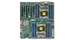 Материнская плата Supermicro MBD-X10DAI-O 2xLGA2011-v3, iC612 , 16 DDR4 RDIMM/LRDIMM, 3*PCI-Ex16   2*PCI-Ex8, SATA   RAID, IPMI 2.0, 2*GLAN, E-ATX