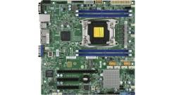 Материнская плата Supermicro MBD-X10SRM-F-O 1 x LGA 2011-v3, C612, 4* DDR4 RDIMM / LRDIMM, 1*PCI-Ex16 + 2*PCI-Ex8, SATA 6Gb/s, 2*GLAN, IPMI , mATX