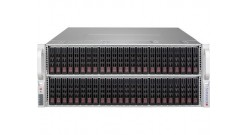 "Корпус Supermicro CSE-417BE1C-R1K23JBOD, 4U, 72 x 2.5"""" hot swap drives, optional 2 x 2.5"""" rear drives, SAS3 single expander, JBOD, 1200W Titanium RPS"