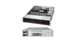 """Серверная платформа Supermicro SSG-2028R-E1CR24H 2U 2xLGA2011 iC612, 16xDDR4, 24x2.5""""""""HDD, 2x10GbE, IPMI, 2x920W"""