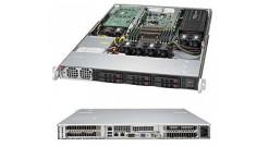 Серверная платформа Supermicro SYS-1018GR-T 1U 1xLGA2011 Intel C612, 8xDDR4, 6x2..