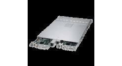 """Серверная платформа Supermicro SYS-1028TP-DC0R 1U (2 Nodes) 2xLGA2011 Intel C612, 16xDDR4,4x2.5""""""""HDD, 2xGbE,IPMI, 2x1000W"""