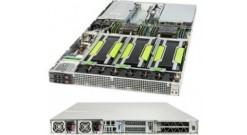 "Серверная платформа Supermicro SYS-1029GQ-TRT 1U (Up to 4 NVIDIA GPU) 2xLGA3647 iC621, 12xDDR4, 4x2.5""""HDD, 2x10GbE, IPMI, 2x2000W"