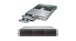 "Серверная платформа Supermicro SYS-2028TP-HC1R 2U (4 Nodes) 2xLGA2011 16xDDR4, 6x2.5""""HDD, SAS, 2xGbE, IPMI 2x2000W"