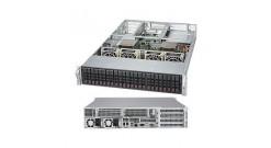 "Серверная платформа Supermicro SYS-2028U-TR4+ 2U 2xLGA2011 24xDDR4, 24x2.5""""HDD, 4xGbE, IPMI 2x1000W (Complete Only)"