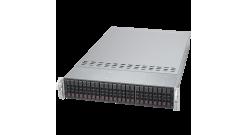 """Серверная платформа Supermicro SYS-2048U-RTR4 2U 4xLGA2011 E5-4600 v4/v3, Intel C612, 48xDDR4, 24x2.5""""""""HDD (Complete Only)"""