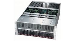 """Серверная платформа Supermicro SYS-4028GR-TRT 4U (Up to 8x GPU) 2xLGA2011 Up to 3TB LRDIMM, 24 Hot-swap 2.5"""""""", Dual 10GBase-T, SATA3 with RAID 0,1,5,10 4x1600W"""