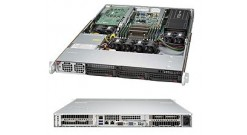 "Серверная платформа Supermicro SYS-5018GR-T 1U LGA2011 Intel C612, 8xDDR4, 3x3.5""""HDD, 2xGbE, IPMI 1400W"