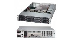 "Корпус Supermicro CSE-826BE1C4-R1K23LPB 2U ATX 12"" x 10"", E-ATX 12"" x 13"", EE-ATX 13"" x 13.68"". Support up to ATX 12""x13"" MB with rear 2.5"" HDD option installed; 12 x 3.5"" hot-swap SAS/SATA drive bay with"