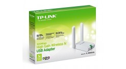 Сетевой адаптер TP-LINK TL-WN822N USB2.0, 802.11b/g/n, до 300 Мбит/с, 2x3 dBi..