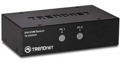TRENDNET TK-222DVK Комплект 2-портовый KVM-переключатель с выходом DVI Комплект ..