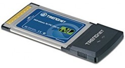 Сетевой адаптор TRENDnet  Wireless N CardBus PC Card (802.11n/b/g)..