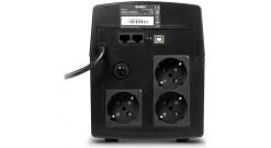 ИБП UPS Sven Pro 650 (90Вт, LCD, USB, RG-45, 2 евро розетки)..
