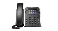 VVX 410 12-line Desktop Phone Gigabit Ethernet with factory disabled media encry..
