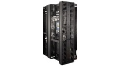 """Valueline, Vertical Cable Manager for 2 & 4 Post Racks, 84""""""""H X 6""""""""W, Double-Sided with Doors"""