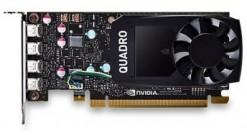 Видеокарта Dell NVIDIA Quadro P620, 2GB, 4 mDP, HH, (Precision SFF)(Customer KIT..