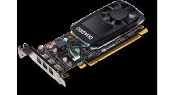 Видеокарта HP Graphics Card NVIDIA Quadro P1000, 4GB, (1ME01AA) Z240 SFF/Tower, Z440)