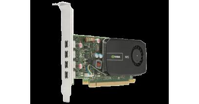 Видеокарта HP NVIDIA QUADRO 510, 2GB, 4хMini DisplayPort (4xMini DisplayPort-> DisplayPort)PCI-E x16 (Z220 SFF, Z230SFF/Tower, Z420, Z620)