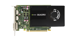 Видеокарта HP NVIDIA QUADRO K2200, 4GB, 1xDual link DVI-I, 2хDisplayPort(1xDisplayPort-> DVI Adapter) PCI-E x16 (Z440, Z640, Z840)