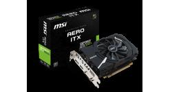 Видеокарта MSI GeForce GTX 1050TI, GTX 1050 Ti AERO ITX 4G OCV1, 4Гб, GDDR5, OC,..
