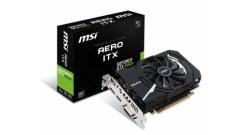 Видеокарта MSI PCIE16 GTX1050TI 4GB GDDR5 GTX1050TIAEROITX4GOCV1 MSI NVIDIA GeFo..