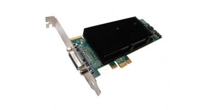 Видеокарта Matrox M9120 Plus LP PCIe x1,(M9120-E512LAU1F), PCI-Ex1, 512MB, DDR2, Low Profile, LFH-60 to 2xDVI-I, 2xDVI-VGA adapters, Max Digital Res.per Output 1920x1200,Max Analog Res. per Output 2048x1536 (1920x1200 with quad analog upgrade cable -ОПЦИЯ