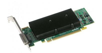 Видеокарта Matrox M9140 LP PCIe x16(M9140-E512LAF), PCI-Ex16, 512MB, DDR2, Low Profile Bracket, Connector- KX-20, KX-20 to 4xDVI-I cable, 4x DVI-HD15, Max Digital/Analog Resolution per Output 1920x1200, RTL {10}