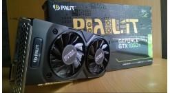 Видеокарта PALIT PA-GTX1050Ti Dual OC 4G/ 4 GB DUAL OC 128bit GDDR5 DVI, HDMI, D..