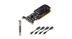 Видеокарта PNY NVIDIA Quadro P600 DVI RTL VCQP600DVI-PB , RTL
