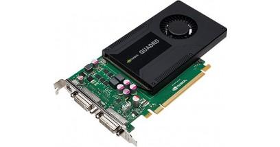 Видеокарта PNY Quadro K2000D , 2Gb GDDR5/128-bit, PCI-Ex16 3.0, 1xDVI, 2xDP, ATX, 1-slot cooler, Retail