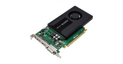 Видеокарта PNY Quadro K2000 (VCQK2000-PB), PCI-Ex16, 2048MB, RTL