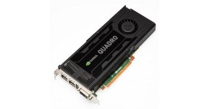 Видеокарта PNY Quadro K4000 (VCQK4000-PB), PCI-Ex16, 3072MB, DDR5, 256BIT, 89.6 GB/sec, потребление энергии(max)-142W, 1xDual-Link DVI/2xDP+ Stereo (extra bracket), RTL