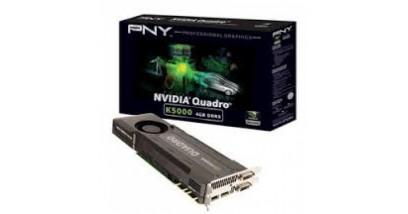 Видеокарта PNY Quadro K5000 4GB PCIE 2xDP 2xDVI Retail 256-bit DDR5