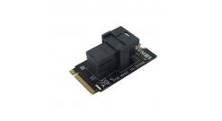 Сетевой адаптер Asus M.2(2242)-to-U.2(Mini SAS HD) M2-NVME1, OEM