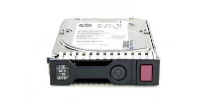Жесткий диск HP 1TB 6G SATA 7.2k 3.5in SC MDL HDD (657750-B21)