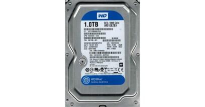 "Жесткий диск WD SATA 1TB WD10EZEX Blue (7200rpm) 64Mb 3.5"""""