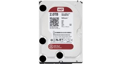 "Жесткий диск WD SATA 2TB WD20EFRX Red 64Mb 3.5"""""