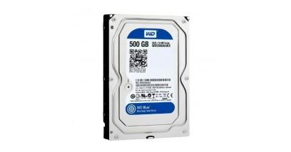 "Жесткий диск WD SATA 500GB WD5000AAKX Blue (7200rpm) 16Mb 3.5"""""